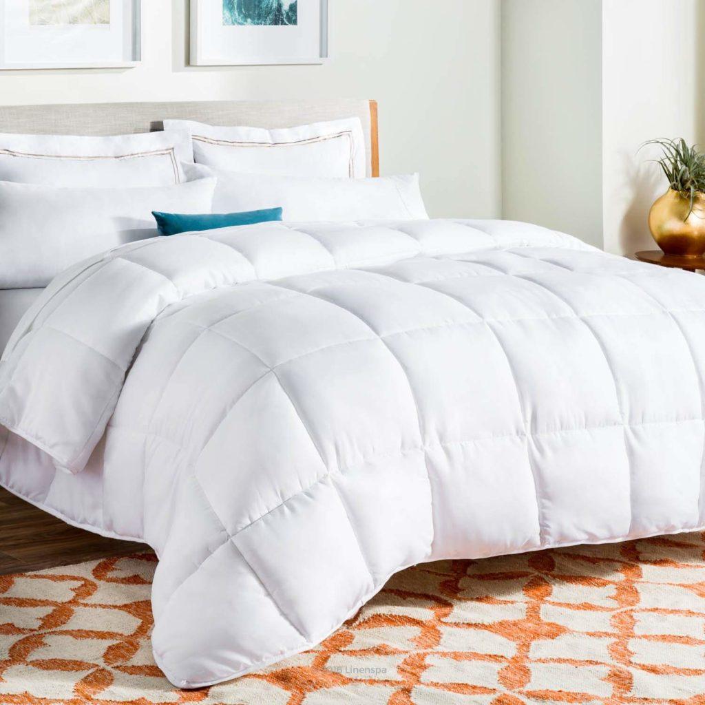 linenspa down alternative comforter